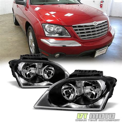 2004 chrysler pacifica light 2004 2006 chrysler pacifica headlights headls headls
