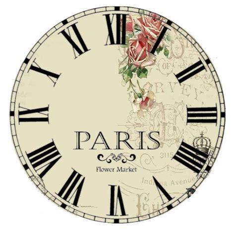 printable vintage clock faces clock face printablelm b024f1a6da346738cd1b527dd6e1217a