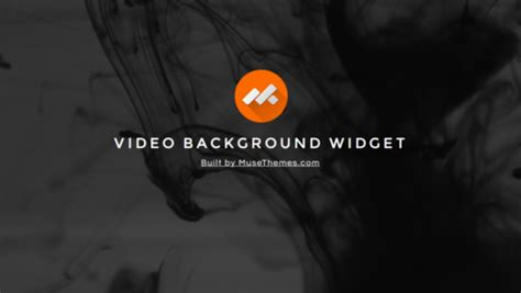 muse themes video background video backgrounds widget for adobe muse by musethemes com