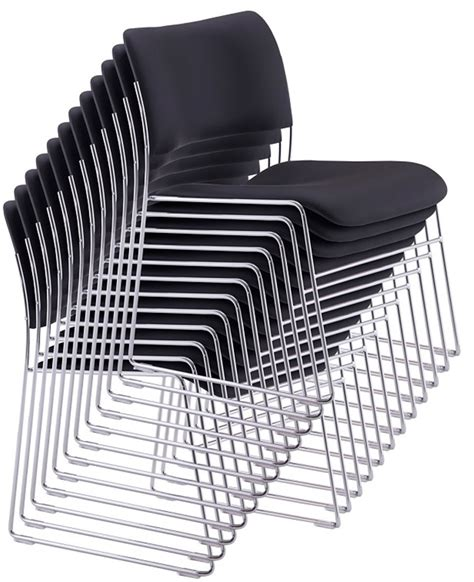 Used Stacking Chairs by Used Chairs Howe 40 4 Classic Chrome Frame Stacking Chair
