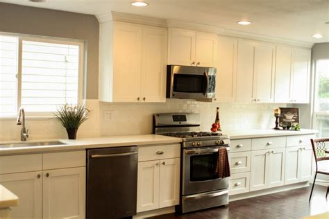 shaker kitchen cabinets white 27 most hilarious one wall kitchen design ideas and