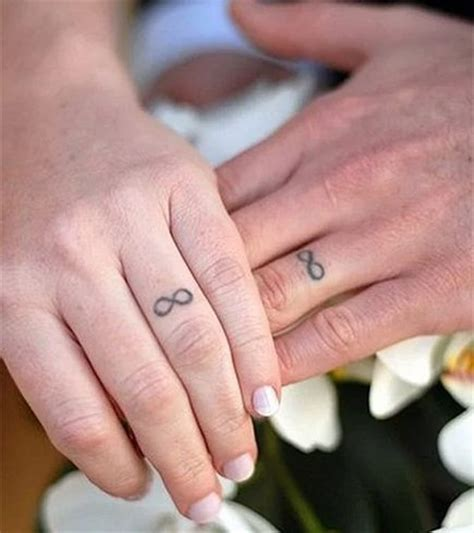 give up your engagement ring for wedding ring tattoos