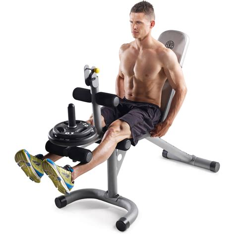 leg exercises on weight bench gold s gym xrs 20 olympic workout bench weight lifting