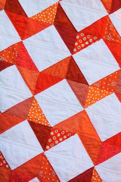 Chevron Quilt Pattern No Triangles by From With Orange Chevron Quilt The