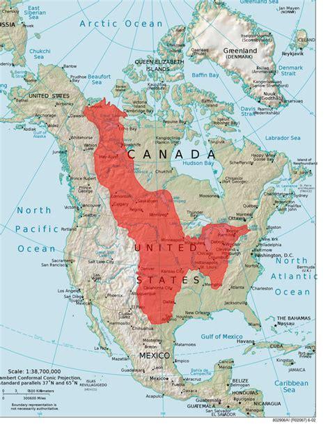 Interior Plains Map interior plains canada s landforms and economic regions