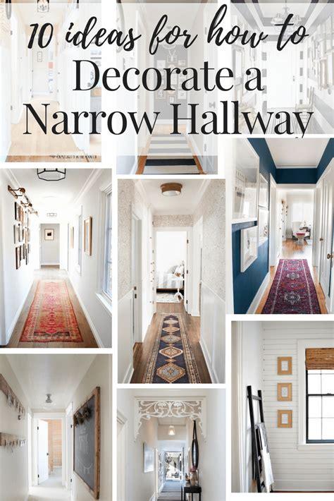 hallway decorating ideas   narrow hallway love