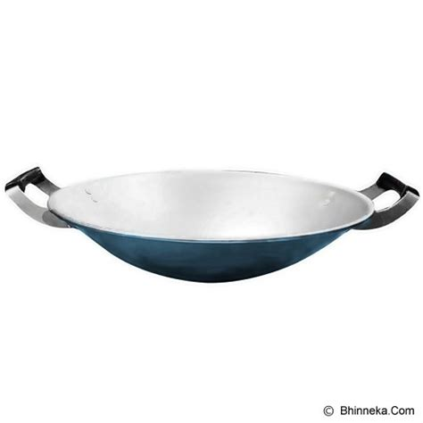Panci Penggorengan Maspion jual maspion wajan clarita 33cm blue murah bhinneka