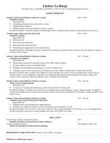 Sample Resume Objectives Paraprofessional by Lindsey S Resume