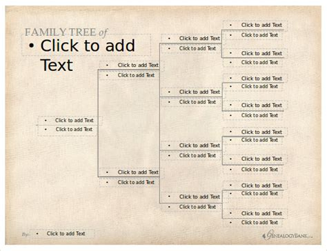 powerpoint genealogy template 7 powerpoint family tree templates free premium