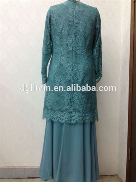 Kebaya Brukat Kurung biru kadet malaysia baju melayu renda meliputi kebaya