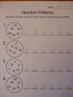 number pattern rule generator 1000 images about math patterns on pinterest skip
