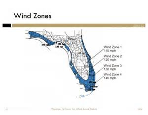 florida wind zone map windows doors for wind borne debris