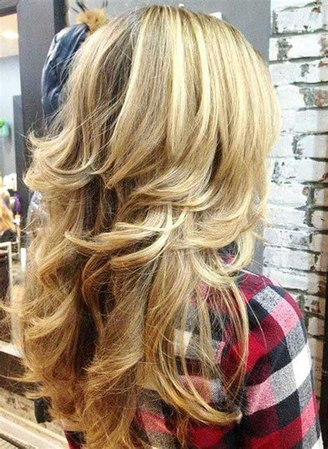 hairstyle gallary for layered ontop styles and feathered back on top 35 latest long layered hairstyles hairstyles pinterest