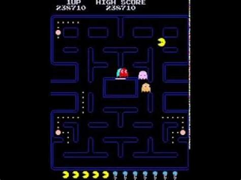 youtube pacman pattern pacman puck man 9th key fast pattern arcade classic retro