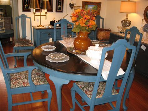 aubusson dining room table and chairs at south end