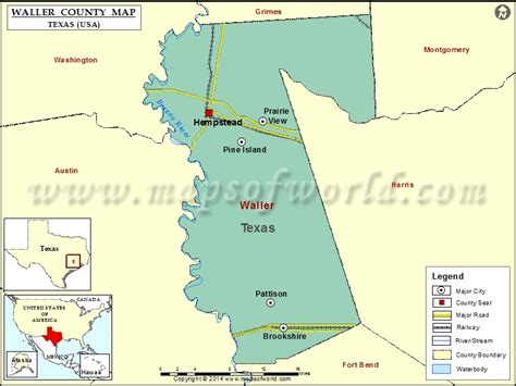 map of waller texas waller county map map of waller county texas