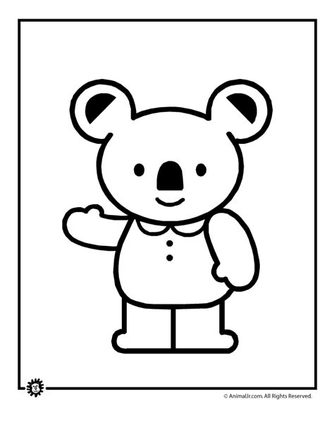 cute koala coloring pages koala coloring pages clipart panda free clipart images