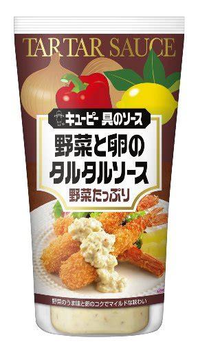 kewpie tartar sauce source vegetables and egg tartar sauce 145g 4 pieces of