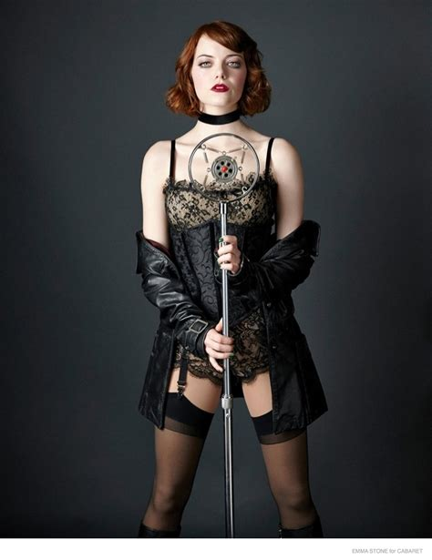 Emma Stone Characters | more photos of emma stone in character for cabaret