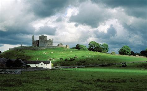 Landscape Architecture Ireland Landscapes Architecture Ireland Rock Of Cashel Wallpaper