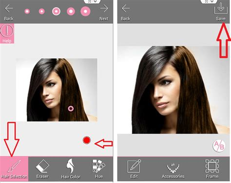Hair Color Changer App For Pc