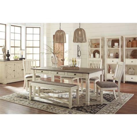 Ashley Furniture Dining Room Sets by Ashley Furniture Bolanburg Rectangular Dining Set In White
