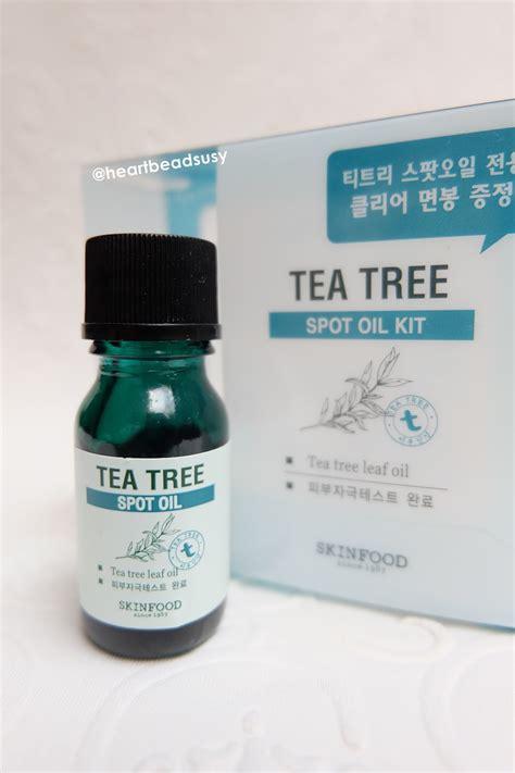 Sabun Tea Tree Msi tea tree spot kit by skin food heartbeads