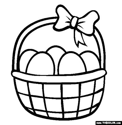 easy easter coloring pages printable easter coloring sheets for kids