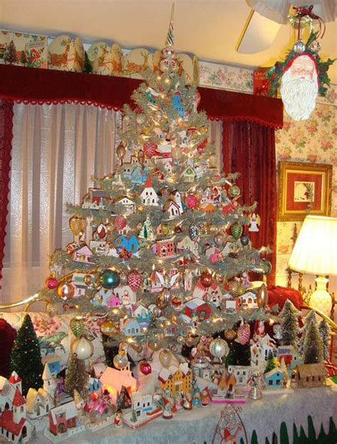 victorian christmas tree blue lights top tree decoration ideas celebration all about