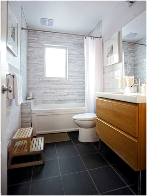 Grey Bathroom Tile Floor - 40 grey slate bathroom floor tiles ideas and pictures