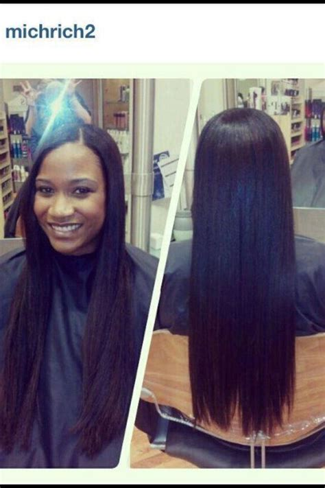 no heat challenge relaxed hair best 20 relaxed hair ideas on relaxed