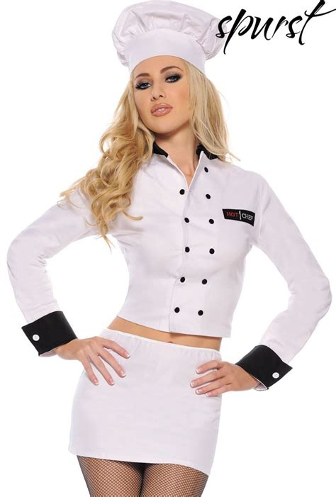 hot female chefs hot chef costume spurst halloween costume ideas