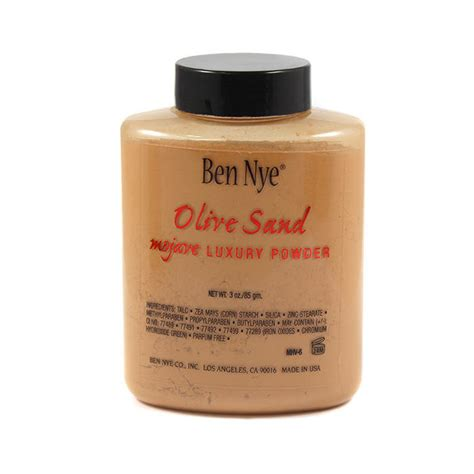 ben nye mojave luxury powder olive sand 85g glambot
