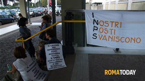inps sede roma flaminio lavoratori igei scioperano sotto la sede dell inps ecco