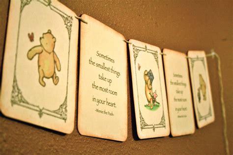 Vintage Winnie The Pooh Baby Shower by Vintage Baby Shower Banner Winnie The Pooh By