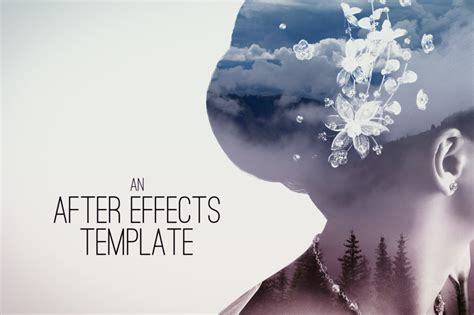 Double Exposure Parallax Titles After Effects Template Filtergrade Circus After Effects Template