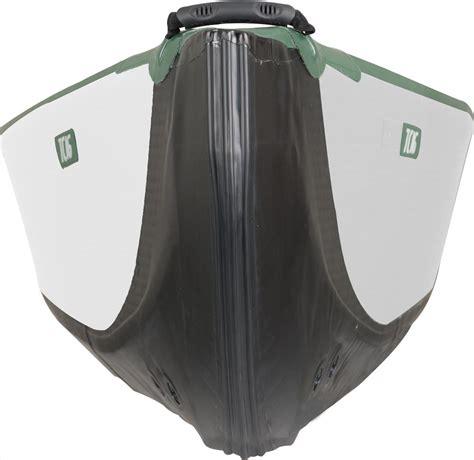 canoe buoyancy chamber sea eagle tc16 inflatable canoe start up and electric