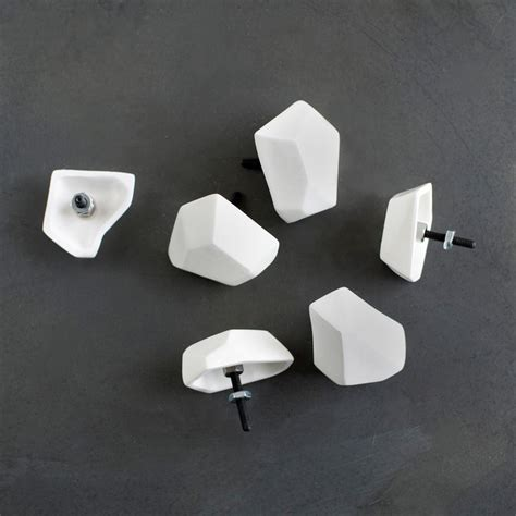 faceted drawer pulls modern cabinet and drawer knobs