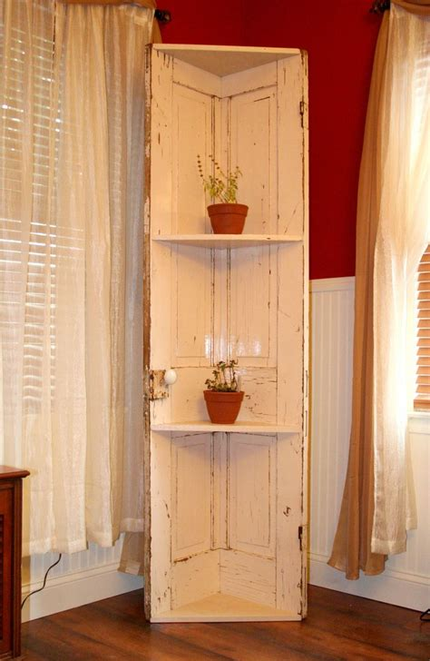 Corner Shelf Made From Door by 542 Best Images About Windows Doors And Other