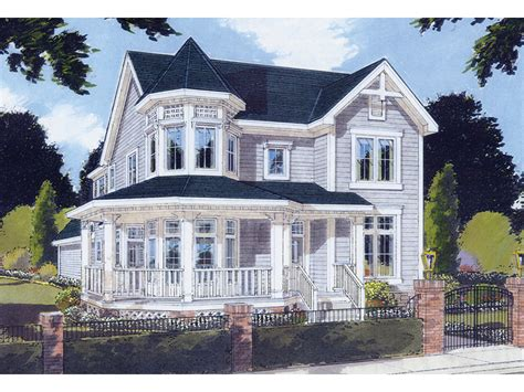 victorian house plans with turrets