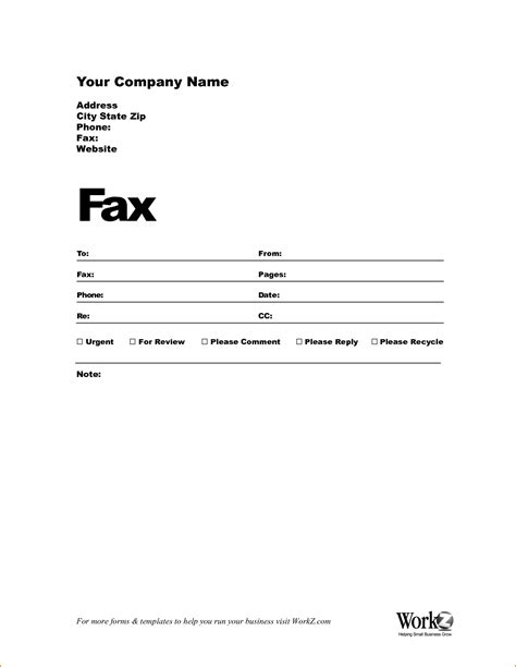 Cover Letter Template To Fax 6 fax cover sheet sle teknoswitch