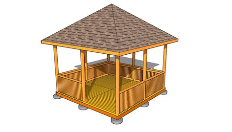 gazebo roof plans  outdoor plans diy shed wooden