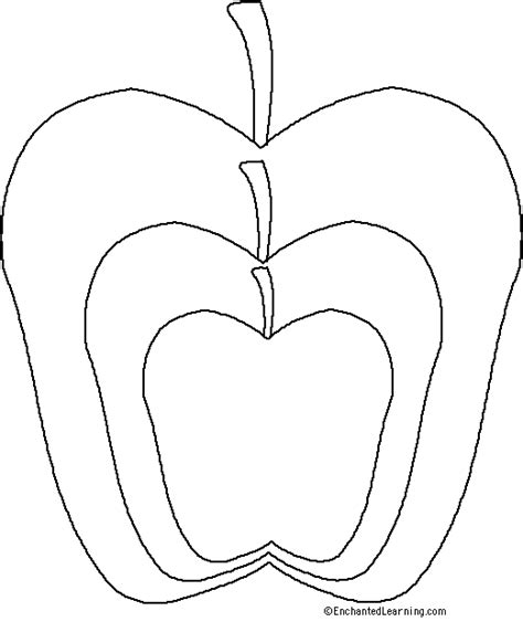 apple template apple template on templates apple crafts and