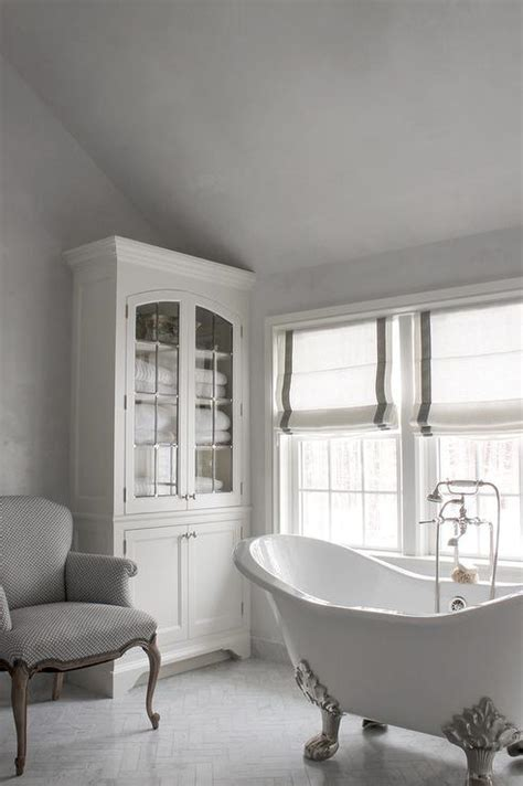 white  grey french bathrooms transitional bathroom