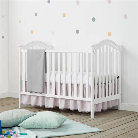 Dorel Living Baby Relax Adelyn 2 In 1 Convertible Crib Baby Relax Crib