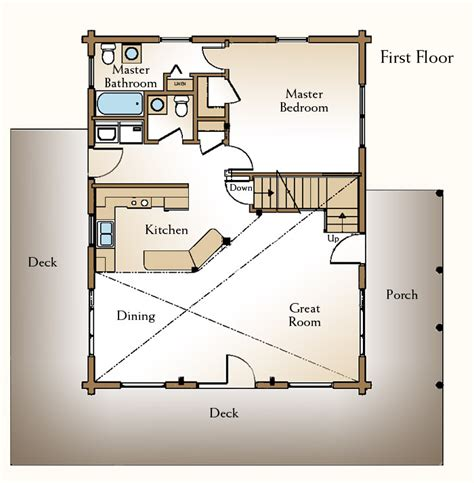 cabin floor plans with loft hideaway log home and log cabin floor plan with loft plans free download 171 same00yte