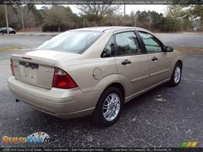 Ford Focus Zx4 2006 2006 Ford Focus Zx4 Se Sedan Pueblo Gold Metallic