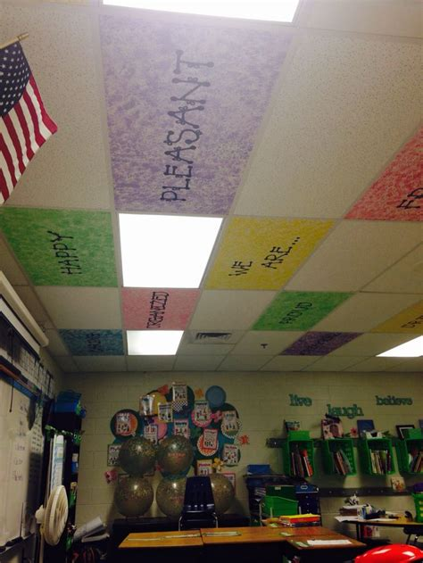 Ceiling Decorations For Classroom by 25 Best Ideas About Classroom Ceiling On