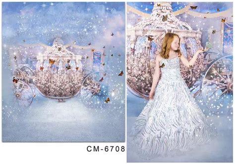 Background Foto Girly Magic Studio 2018 5x7ft tale princess photography prop