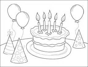 happy birthday coloring pages happy birthday coloring pages free printable pictures